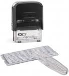 Самонаборный штамп /3 строки/ Colop Printer20set\пластик/1 касса