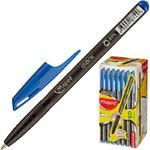 Ручка шариковая Maped Green Dark трехгранный корпус синяя (толщина линии 0.6 мм) 326343